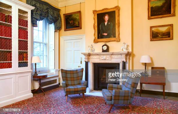 Study of 10 Downing Street during December 2013 in London,England.