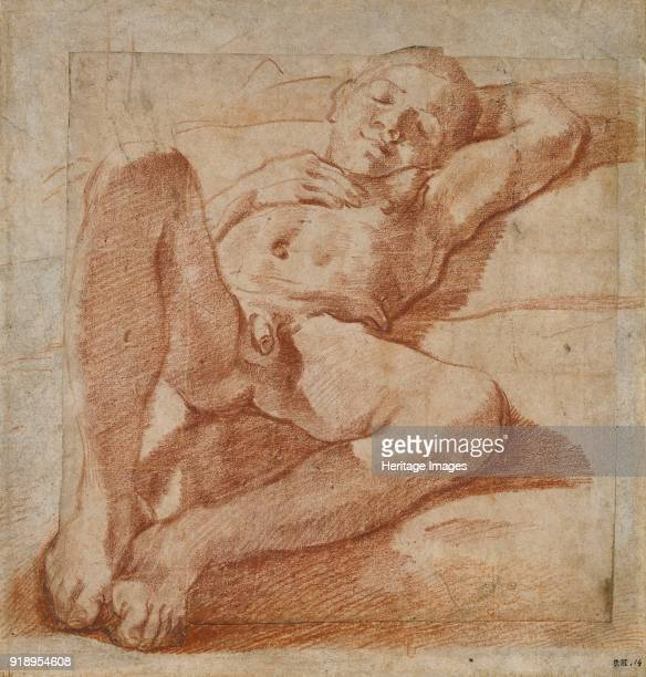Study of a nude Boy 15751619 Dimensions height x width sheet 237 x 223 cm