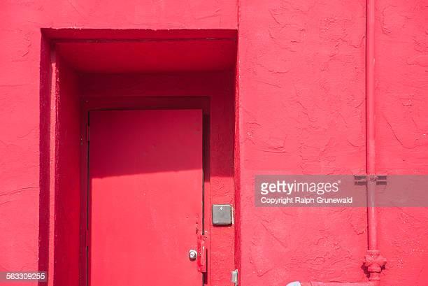 Study of a Red Door