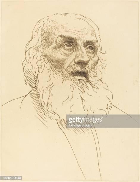 Study of an Old Man . Artist Alphonse Legros.