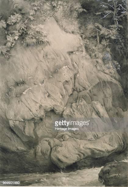 Study of Gneiss Rock Glenfinlas July 1853February 1854 Artist John Ruskin