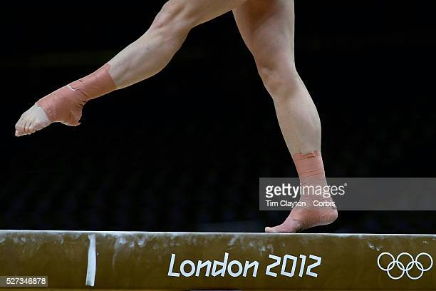 A study of gymnasts feet on the balance beam One of the most challenging disciplines of the Olympic games sees young gymnasts performing amazing...