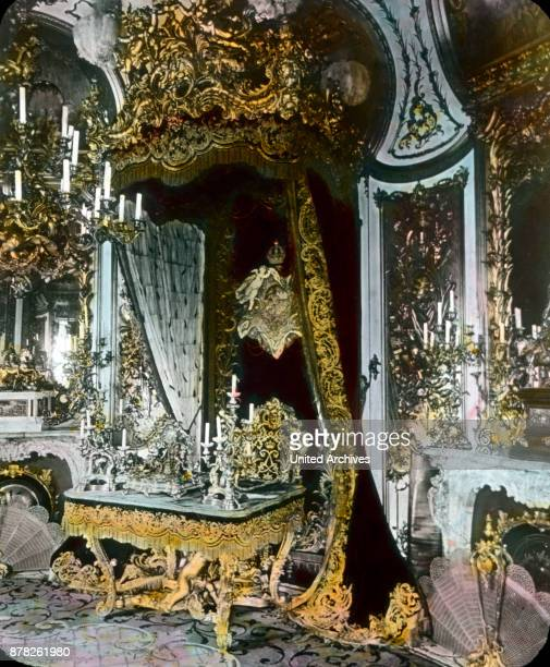 Study of king Louis II at Linderhof castle at Ettal in Bavaria