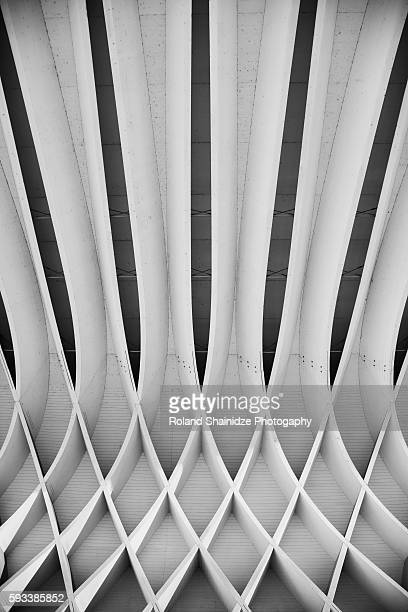 study of patterns and lines - architectural feature stock pictures, royalty-free photos & images