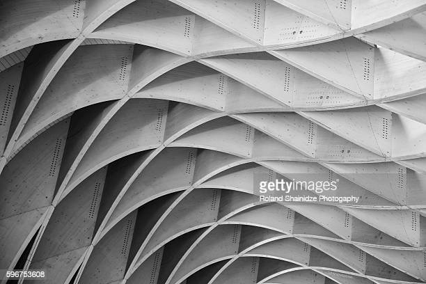 study of patterns and lines - architecture stock pictures, royalty-free photos & images