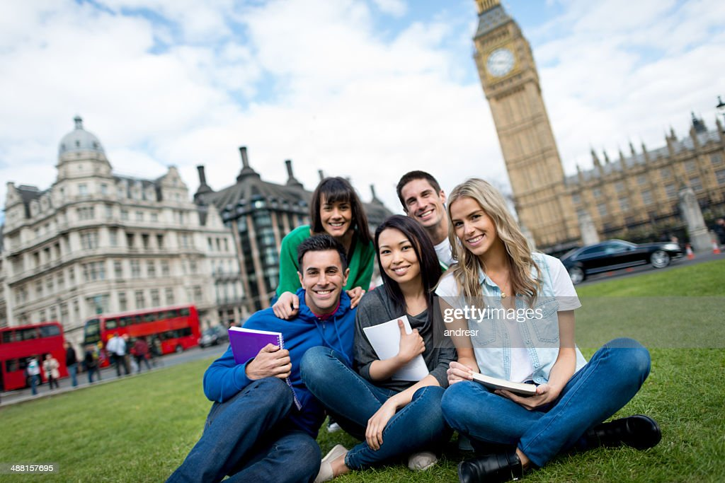 Studying abroad in London : Stock Photo