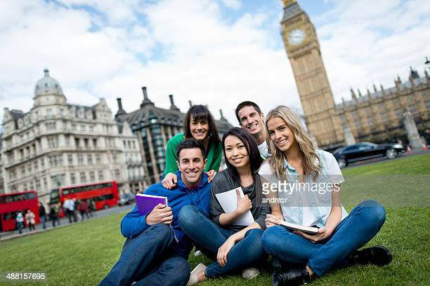 studying abroad in london - england stock pictures, royalty-free photos & images