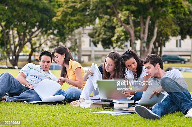 Studying at the Campus