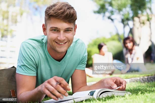 Studieren an der frischen Luft