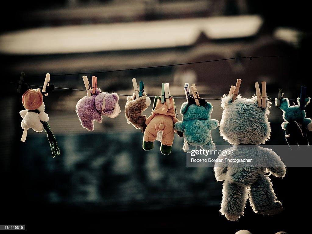 Stuffed animals : Foto stock