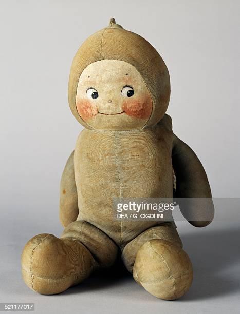 Stuffed cloth Kewpie doll 1930s made by Kewpie United States of America 20th century United States