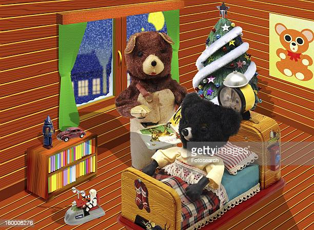 Stuffed toy bear