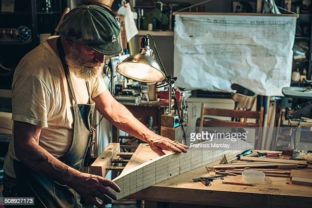 Stumbled upon this extraordinary man smoking a cigarette outside of a workshop in Baltimore. For the last 51 years, Mr. Jim has been building wooden...