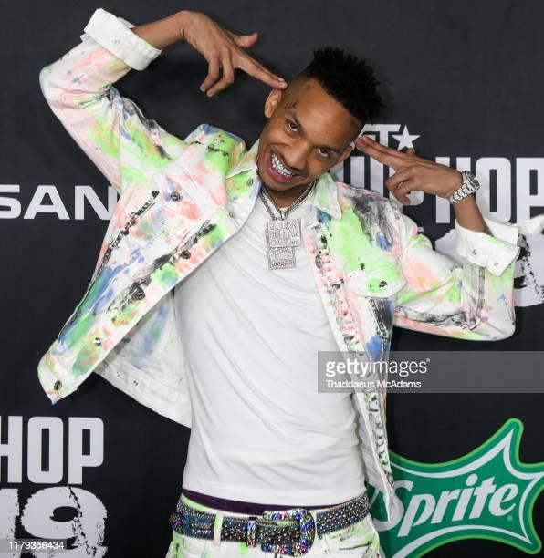 Stunna For Vegas arrives to the 2019 BET Hip Hop Awards on October 05 2019 in Atlanta Georgia