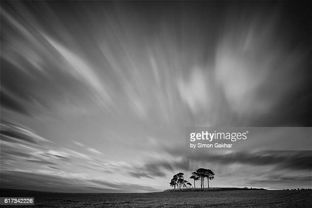 Stunning Black and White Landscape Photograph