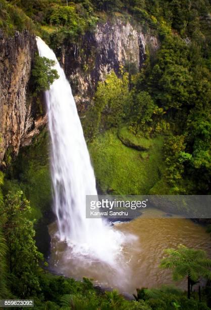 Stunning Bridal Veil Falls from very high vantage point.