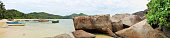 stunning high resolution beach panorama taken