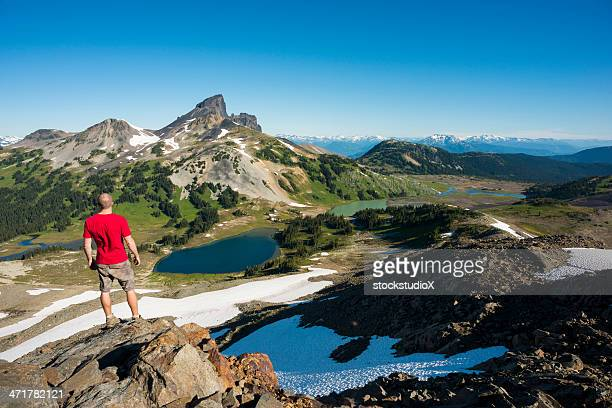 stunning hike - garibaldi park stock pictures, royalty-free photos & images