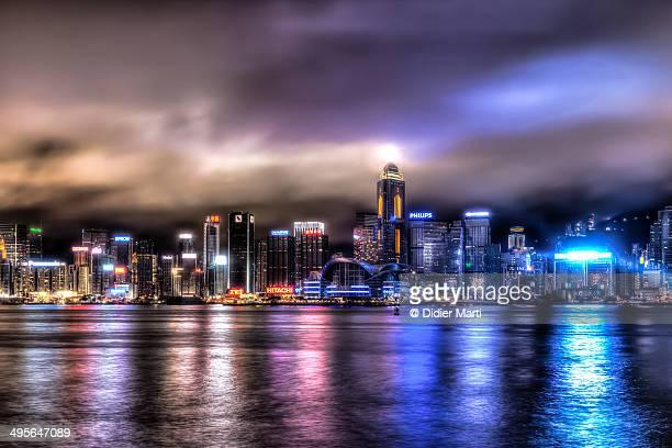stunning hong kong - didier marti stock-fotos und bilder