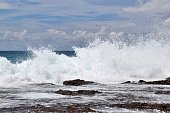stunning indian ocean waves at beaches