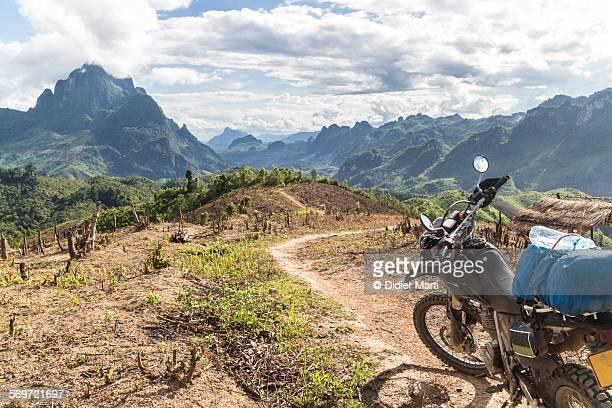 Stunning landscape in Laos