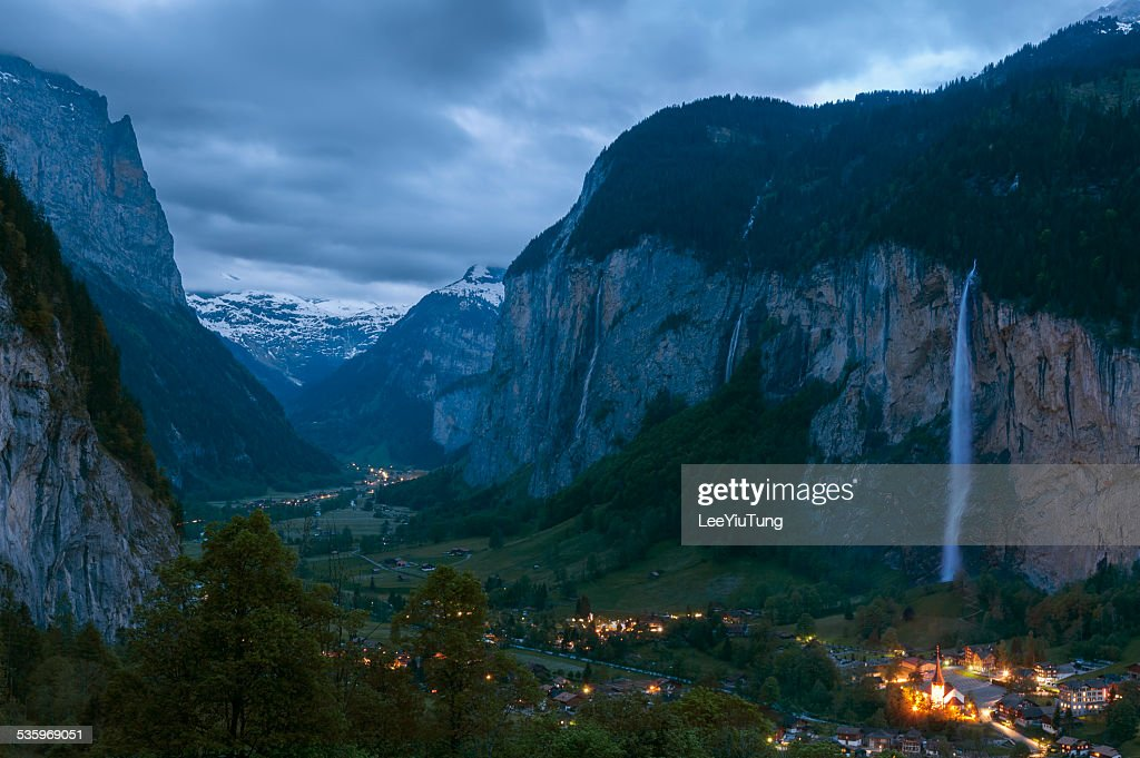 Stunning Landscape in Swiss : Stock Photo