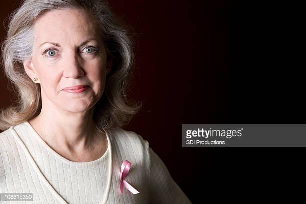 Stunning Portrait of Confident Breast Cancer Survivor