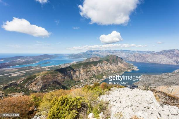Stunning view of the Kotor bay in Montenegro