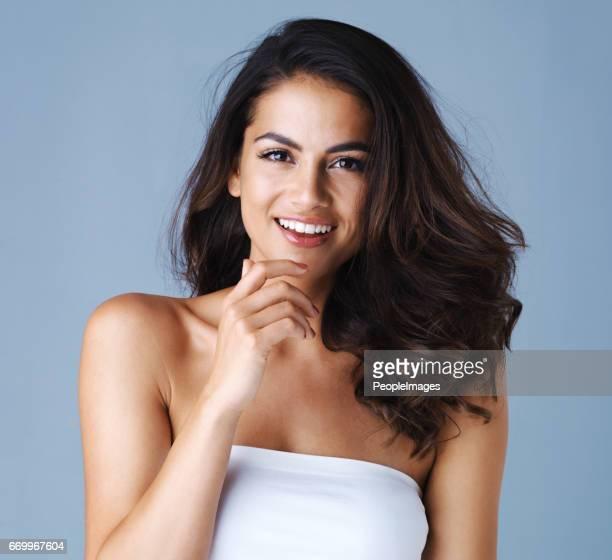 Atemberaubende Frau, erstaunlich, Lächeln