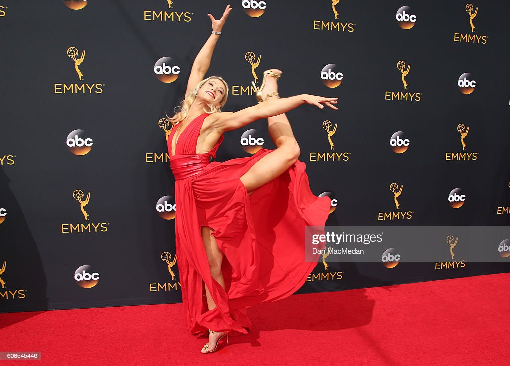 Stunt woman Jessie Graff attends the 68th Annual Primetime Emmy Awards at Microsoft Theater on September 18, 2016 in Los Angeles, California.