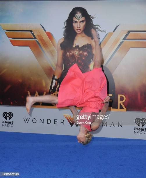 Stunt woman Jessie Graff attends the World Premiere of Warner Bros Pictures' 'Wonder Woman' at the Pantages Theatre on May 25 2017 in Hollywood...
