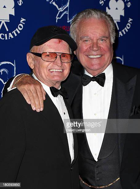 Stuntman Bob Yerkes and actor Robert Wagner attend the Stuntmen's Association of Motion Pictures 52nd Annual Awards Dinner to benefit the Taurus...