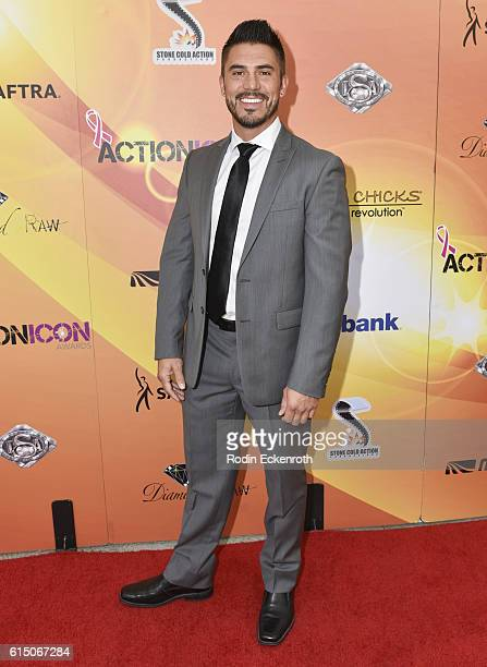 Stuntman Chad Guerrero attends The Action Icon Awards at Sheraton Universal on October 16 2016 in Universal City California