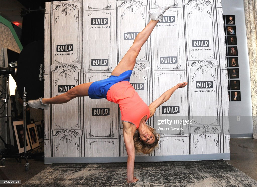Stunt-woman Jessie Graff 'Tumbleweed' visits Build Series to discuss 'American Ninja Warrior' at Build Studio on June 13, 2018 in New York City.