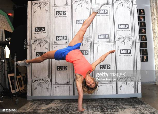 Stuntwoman Jessie Graff 'Tumbleweed' visits Build Series to discuss 'American Ninja Warrior' at Build Studio on June 13 2018 in New York City