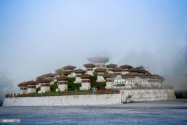 108 stupa at Dochula pass bhutan