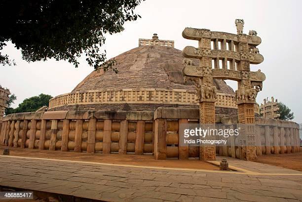 Stupa at Sanchi in Madhya Pradesh