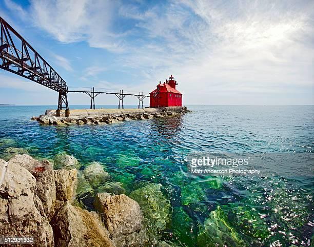 Sturgeon Bay Lighthouse Door County Wisconsin