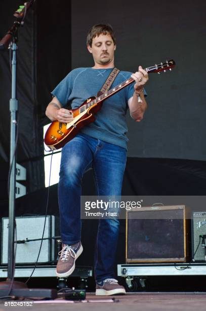 Sturgill Simpson performs on day two of the 2017 Forecastle Festival on July 14, 2017 in Louisville, Kentucky.