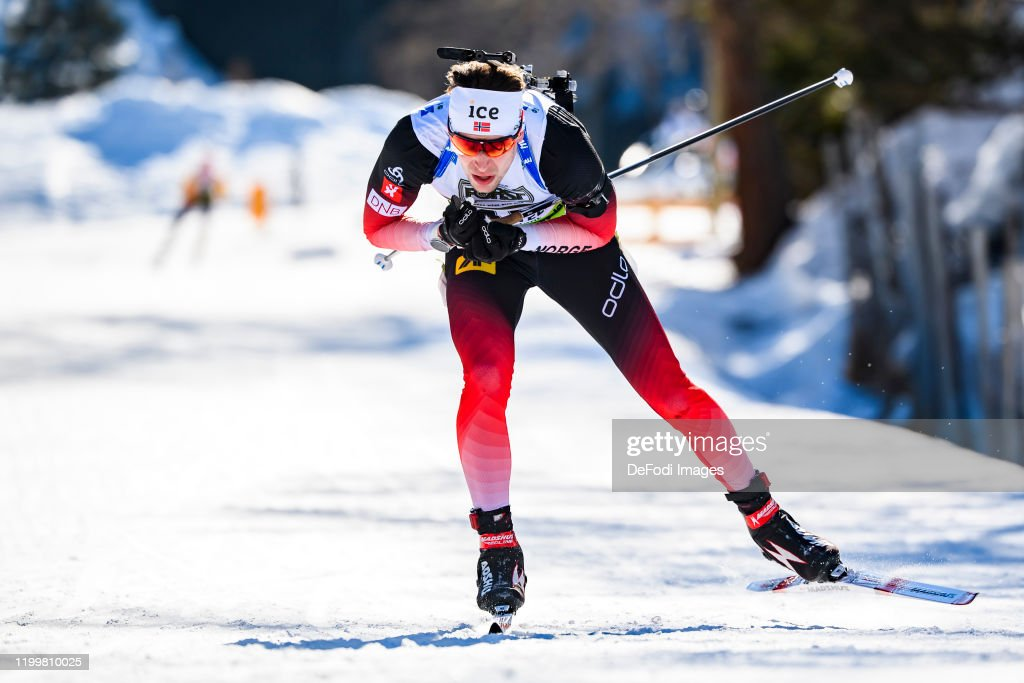Sturla Holm Laegreid Of Norway In Action Competes During The Men 15 News Photo Getty Images