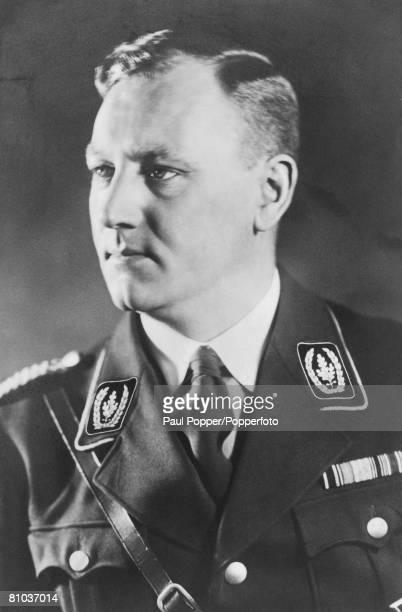 Sturmabteilung officer Viktor Lutze circa 1925