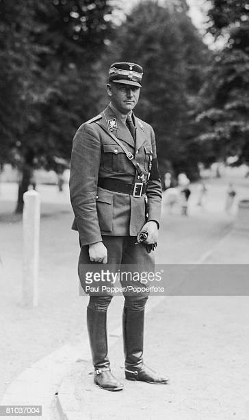 Sturmabteilung officer Viktor Lutze circa 1935