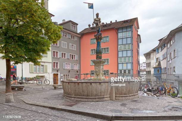 Stüssi's fountain in Zurich