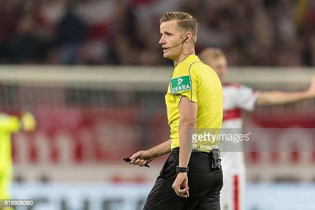 Stuttgart Deutschland 2 Bundesliga 10 Spieltag VfB Stuttgart TSV 1860 Muenchen Feature Schiedsrichter Arne Aarnink