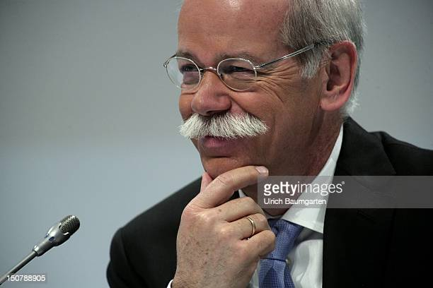 GERMANY Stuttgart DR Dieter ZETSCHE Chairman of the Board of Management of Daimler AG at Daimler's press briefing on annual results
