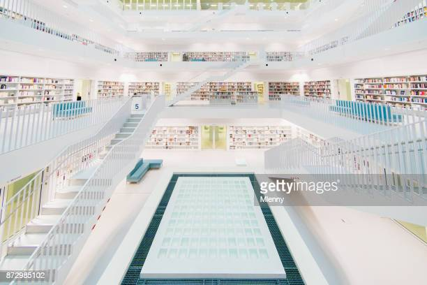 Stuttgart Stadtbibliothek Modern Public Library