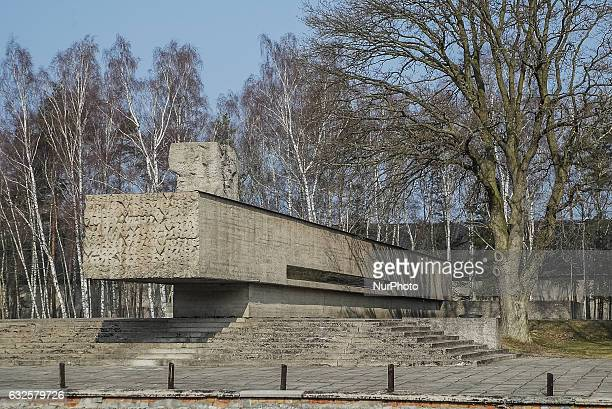 Stutthof memorial is seen in former Nazi German Concentration Camp Stutthof on 17 March 2012 in Sztutowo Poland Stutthof was the first Nazi...
