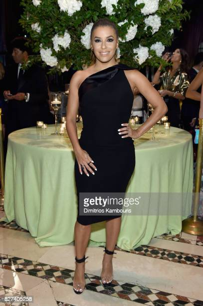 Style Ambassador Eva Longoria attend the Accessories Council's 21st Annual celebration of the ACE awards at Cipriani 42nd Street on August 7 2017 in...