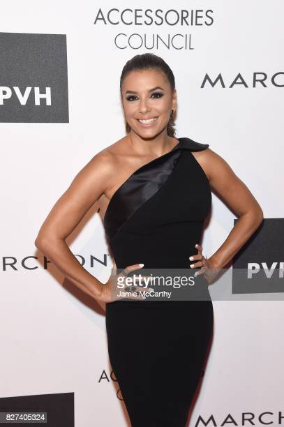 Style Ambassador Eva Longoria attends the Accessories Council's 21st Annual celebration of the ACE awards at Cipriani 42nd Street on August 7 2017 in...