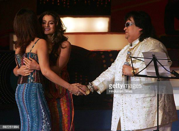 Style Awards Amisha Patel and Bappi Lahiri